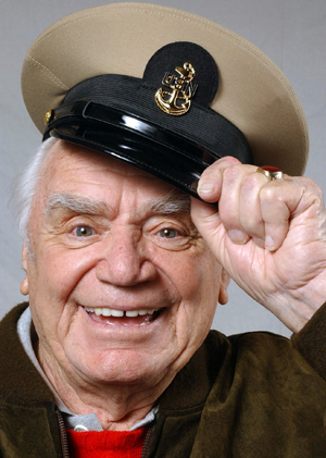 Portrait of Ernest Borgnine from Wikipedia Bio Page