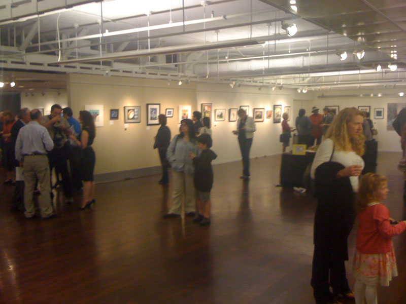 Opening Night at the Edison gallery in wasington dc