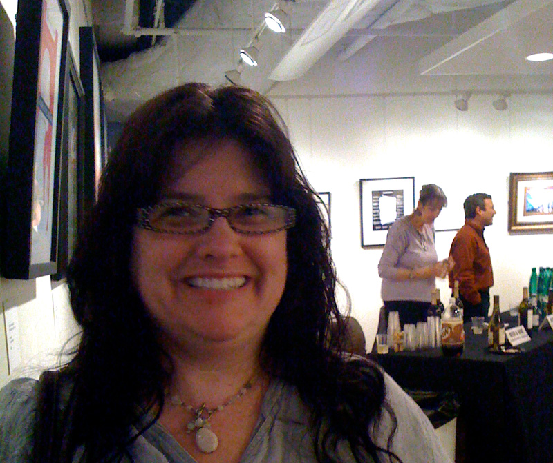 zdepski's lovely bride at the Edison gallery in washington dc