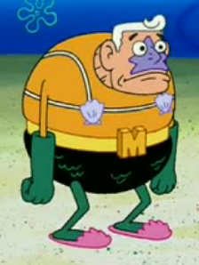 Spongebob Squarepants Character, Mermaid Man