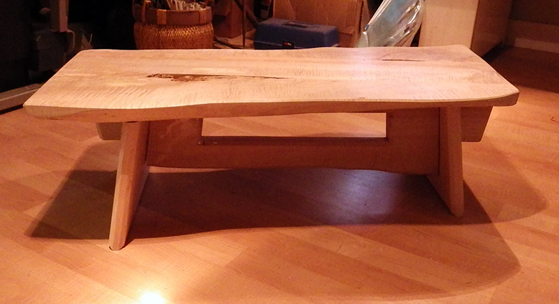 Zdepski's Maple Barney Rubble Table 1