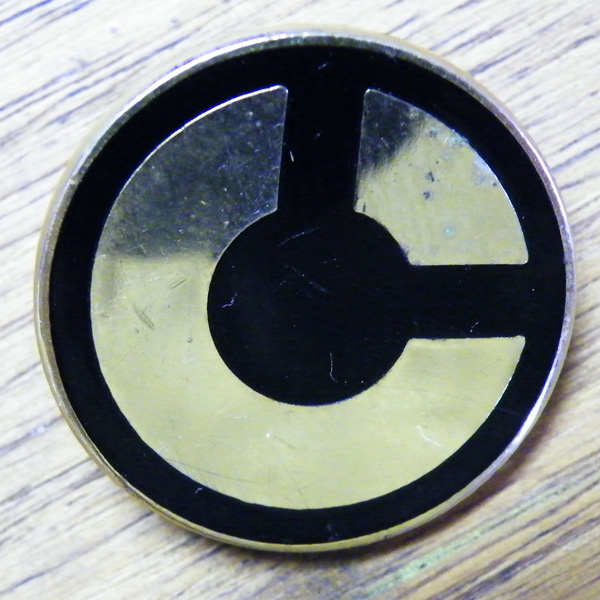 Comico pin from Paul Zdepski's Army Jacket