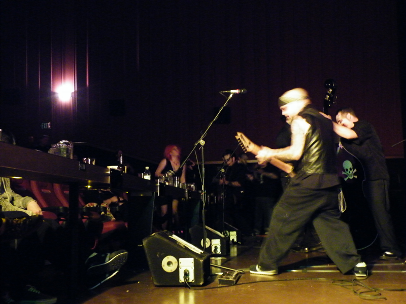 Zdepski's photo of the Deadneks during the Trilogy of Blood Premiere