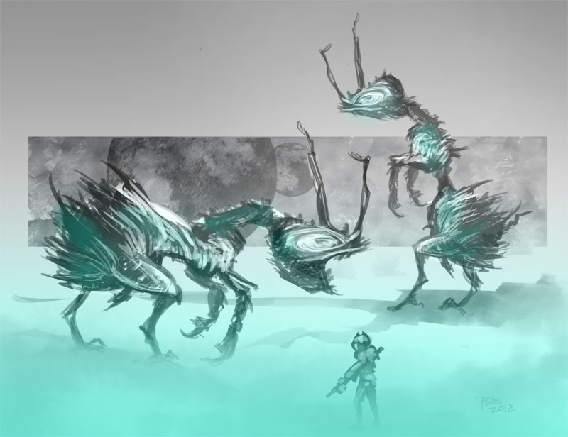 zdepski's concept illustration - ant trap