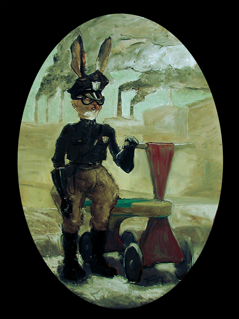 Officer Rabbit's New Bike, by Paul Zdepski - 2007