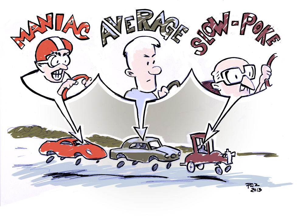 Zdepski's illustration of Road Rage via Chart