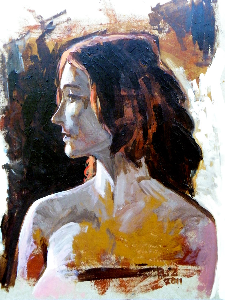 Rockville Nude Figure Marathon, Portrait 4 - Paul Zdepski
