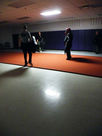 Zdepski's photo of women's self defense class