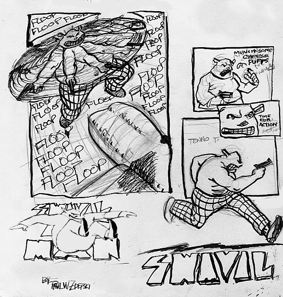 Zdepski's Swivil Man pages