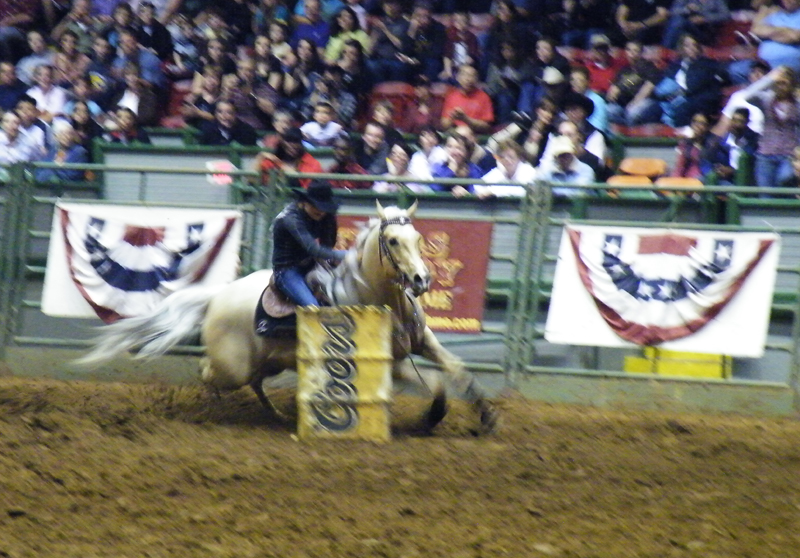zdepski's photo of cowgirl barrel races