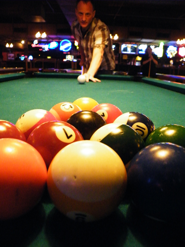 zdepski's photo of Chad Grohman playing pool